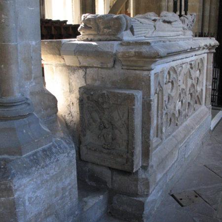 Marshall tomb: east end