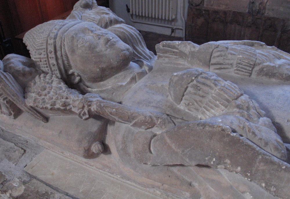 Marshall tomb: head