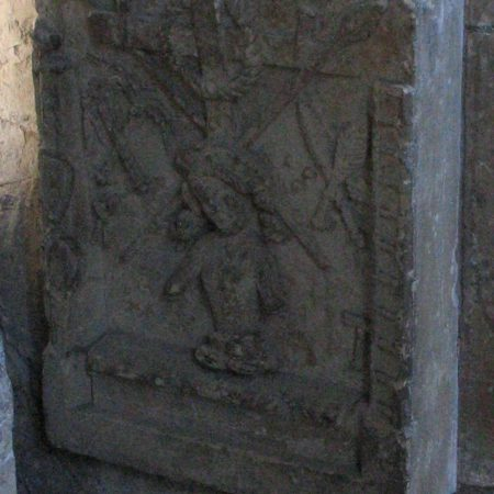 Marshall tomb: Image of Pity