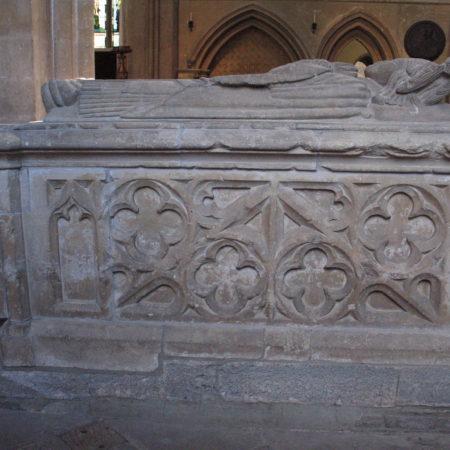 Marshall tomb: north side