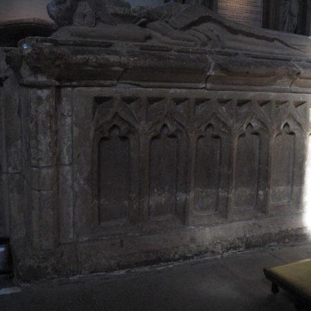Marshall tomb: south side