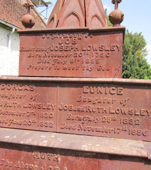 Lowsley inscriptions