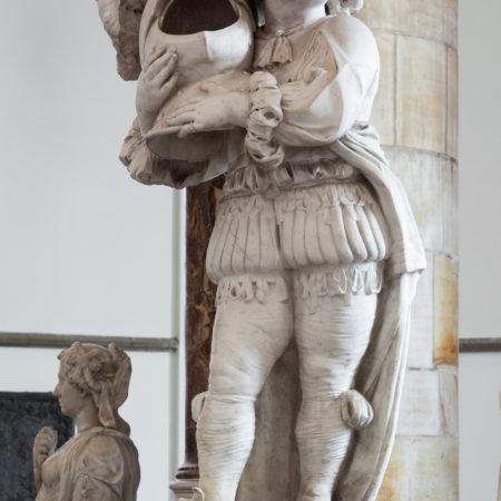 cherub with helm