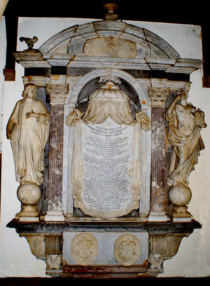 The monument to Dr Thomas Turner died 1714 Fig 1