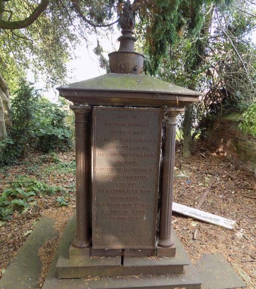 Pontesbury Shropshire Hamlet Harrison monument 1843 P Hellin