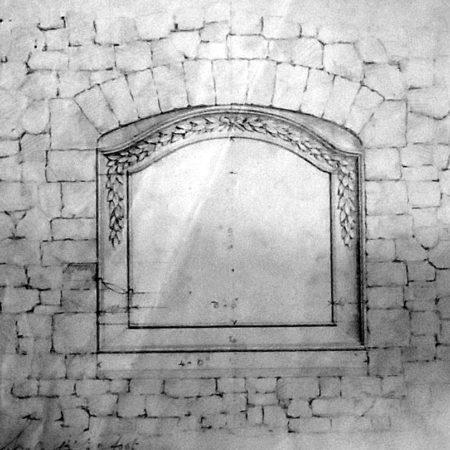 Bonvilston war memorial roadside wall tablet inscription and list of names