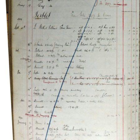 Day Book 13 page 290 Bonvilston war memorial tablet