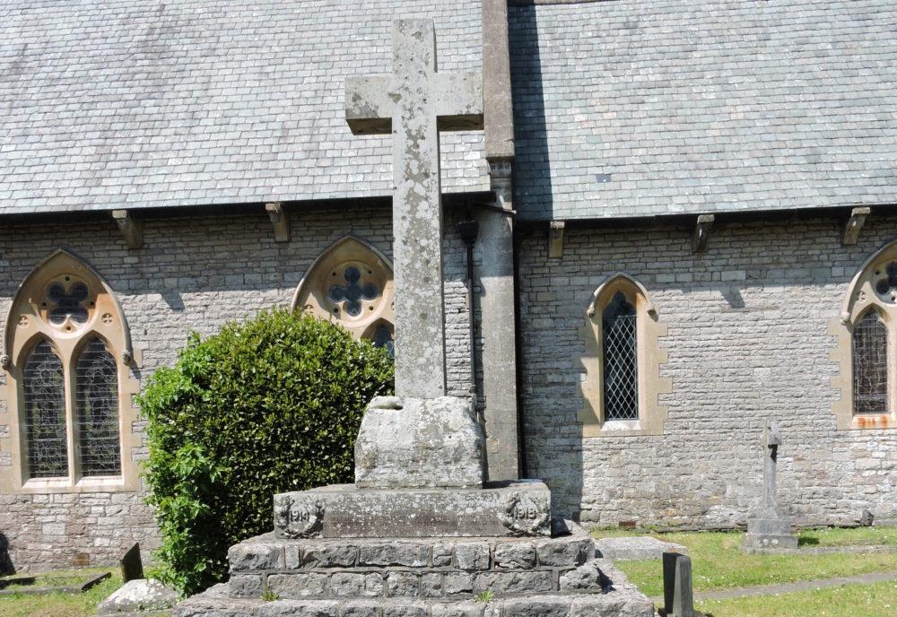 War memorial Bonvilston churchyard