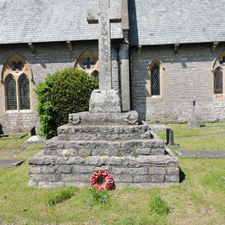 War memorial Bonvilston churchyard