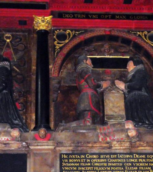 St Olave Hart St Sir James Deane