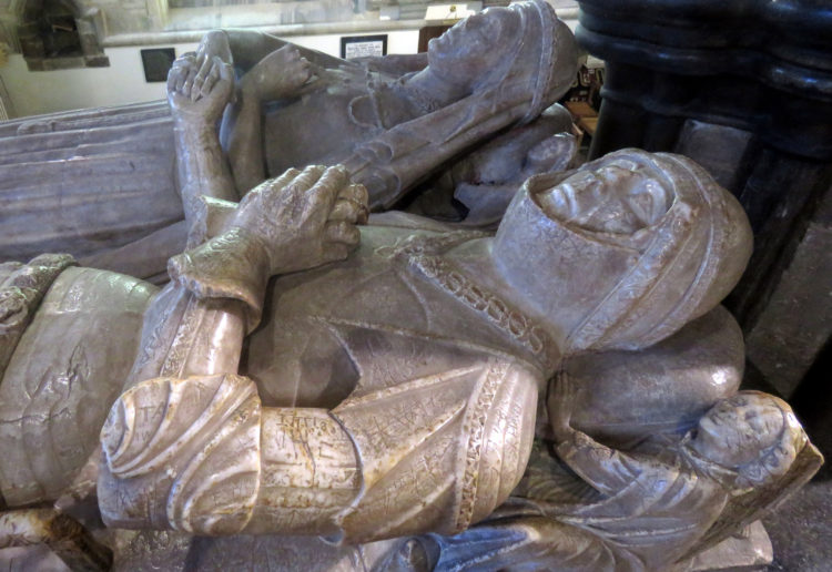 church monuments society wimborne minster dorset duke  duchess of somerset 1