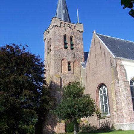 4. The exterior of the Sint-Maartenskerk, Wemeldinge (Zeeland, Netherlands).