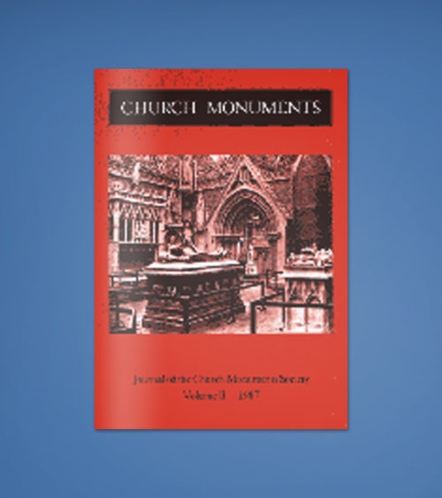 CHURCH MONUMENTS VOLUME II