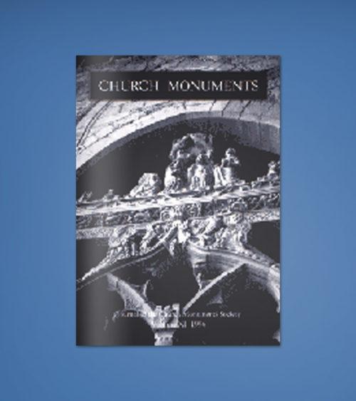 CHURCH MONUMENTS VOLUME XI