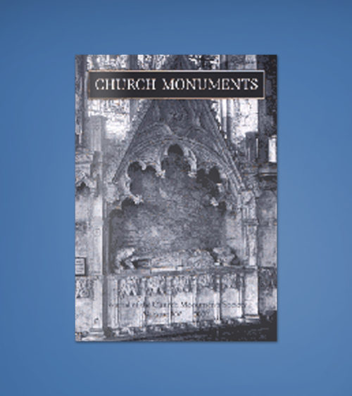 CHURCH MONUMENTS VOLUME XV