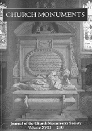 CHURCH MONUMENTS VOLUME XVIII small