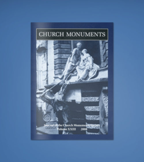 CHURCH MONUMENTS VOLUME XXIII