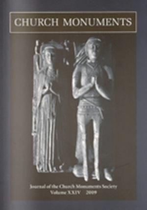 CHURCH MONUMENTS VOLUME XXIV small
