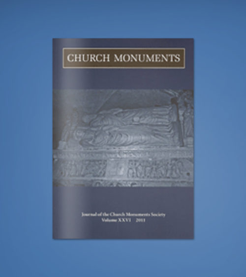 CHURCH MONUMENTS VOLUME XXVI