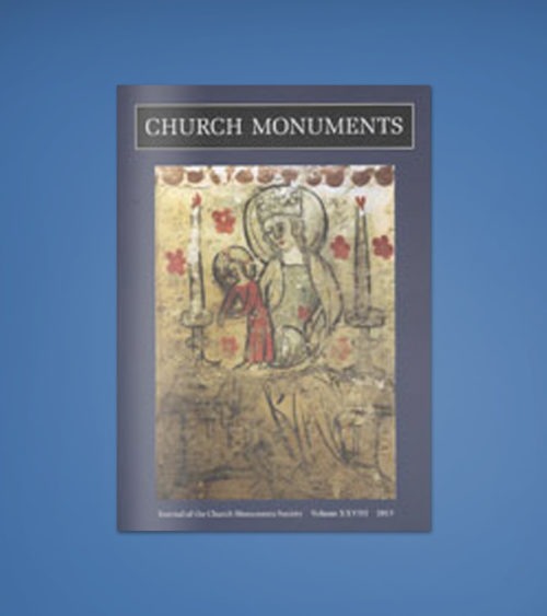 CHURCH MONUMENTS VOLUME XXVIII