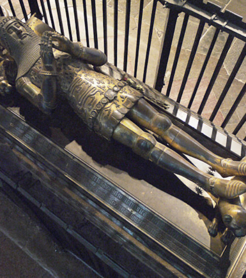 Edward the Black Prince d 1376 canterbury cathedral kent 02