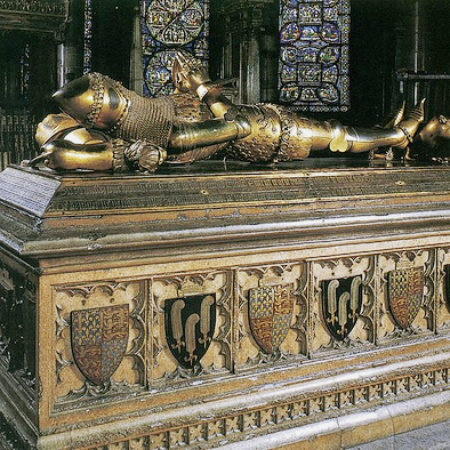 Edward the Black Prince d 1376 canterbury cathedral kent 03