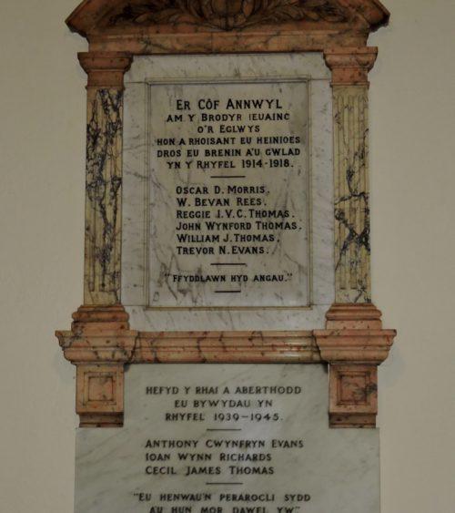Figure 1 Tabernacl war memorial