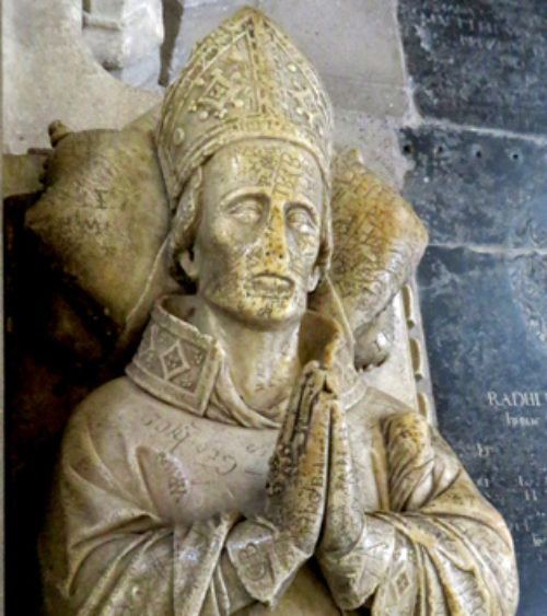 Ralph of Shrewsbury Bishop of Bath and Wells d 1363 Fig 2