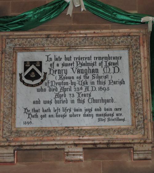 St Bridgets Church Llansantffraed and St Cynogs Church Dyfynnog Breconshire Fig 1