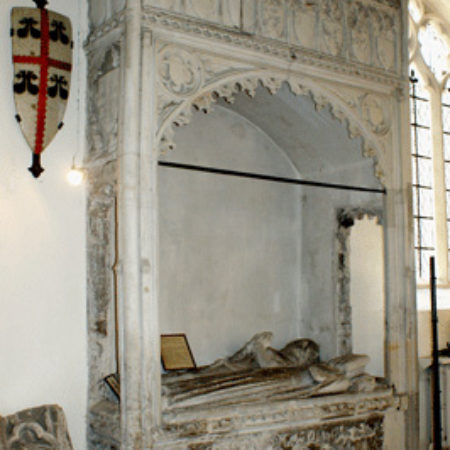 The Bourchier Monuments in St Andrew's Church Halstead Essex 01