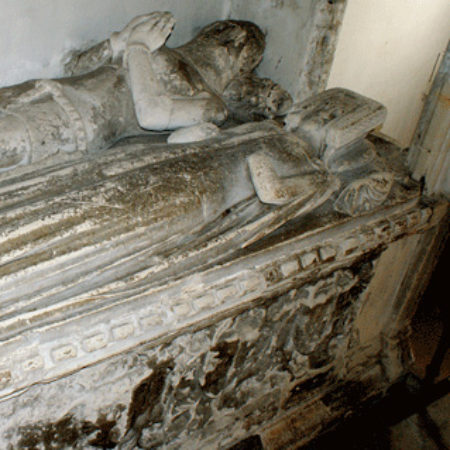 The Bourchier Monuments in St Andrew's Church Halstead Essex 02