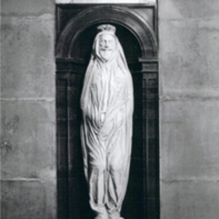 The John Donne Monument d 1631 by Nicholas Stone