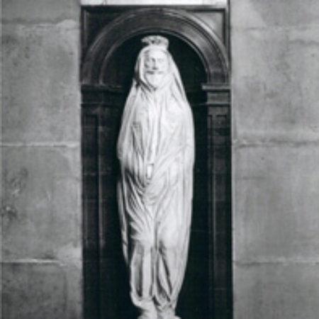 The John Donne Monument d 1631 by Nicholas Stone