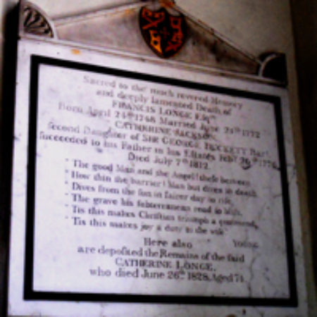 The Monuments To Charles Leigh And Francis Longe At Spixworth Norfolk 01