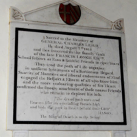 The Monuments To Charles Leigh And Francis Longe At Spixworth Norfolk 02