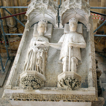 The joint tomb of João I of Portugal d 1433 and his queen Philippa of Lancaster d 1415 01