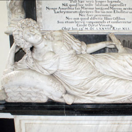 The monument to Lady Wolryche 1678
