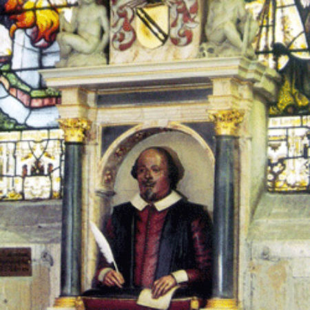 William Shakespeares monument