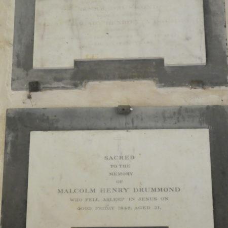 AlburyHenryDrummond†1827MalcolmHenryDrummond†1842Smart SmartMoon