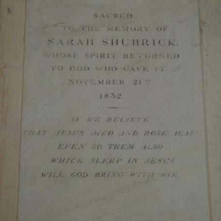 lburySarahShubrick†18322