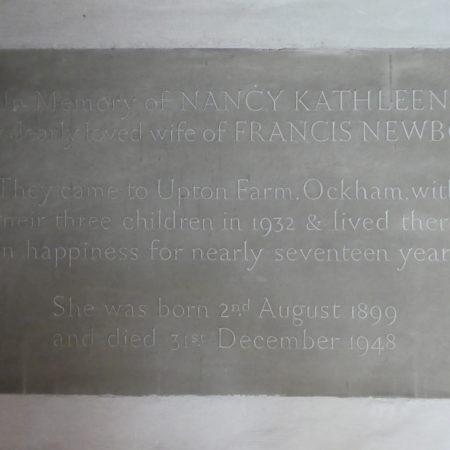 OckhamNancyNewbolt†1948