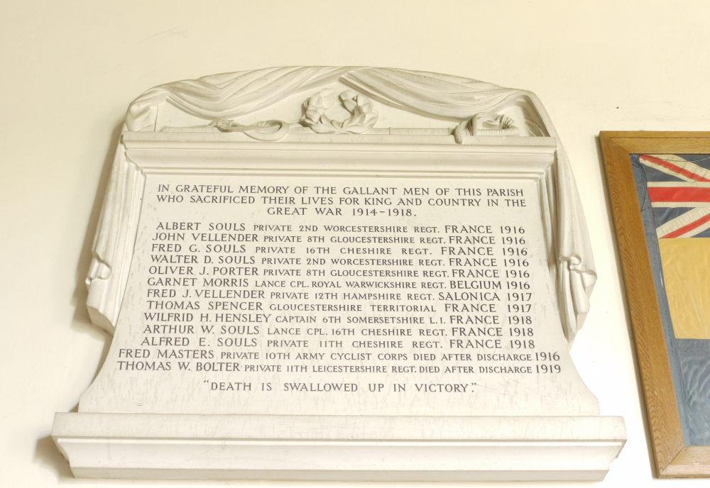Great Rissington war memorial