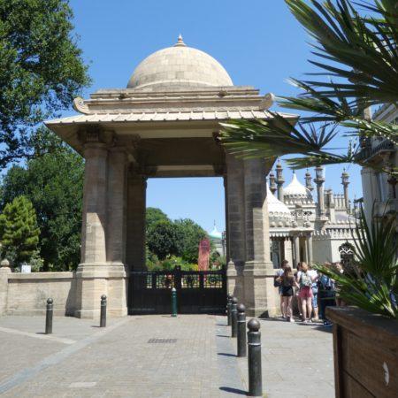 The India Gate at Brighton: photo Barbara Tomlinson
