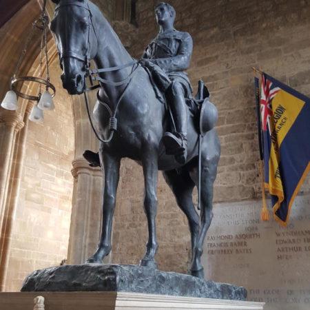 Lieut E W Horner statue