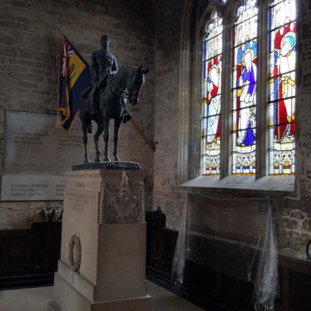 Lieut E W Horner statue2