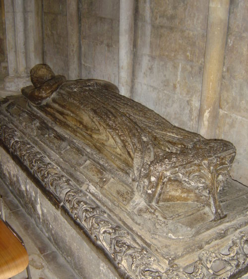 Effigy of Charnel Chapel Lady