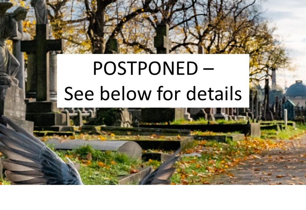 gravedigging postponed