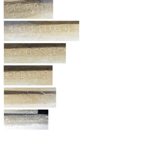 Figure 5 Continued inscription at side of effigy