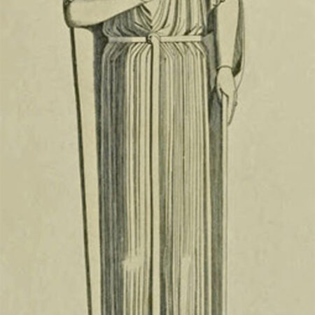 Figure 9 Drawing of the effigy once thought to be Robert Earl of Gloucester now believed to be of a thirteenth century merchant in St James Priory Bristol